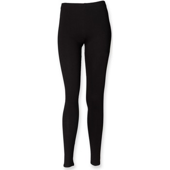 Vêtements Fille Leggings Skinni Fit SM064 Noir