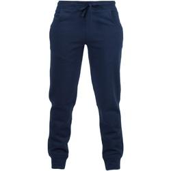 Vêtements Enfant Pantalons de survêtement Skinni Fit Cuffed Bleu marine