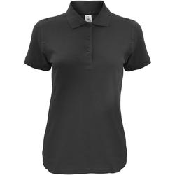 Vêtements Femme Polos manches courtes B And C Safran Noir