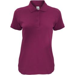Vêtements Femme Polos manches courtes B And C Safran Bordeaux