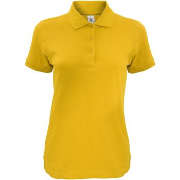 Vêtements Femme Polos manches courtes B And C Safran Or