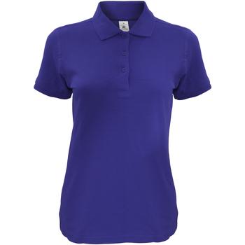 Vêtements Femme Polos manches courtes B And C Safran Bleu marine