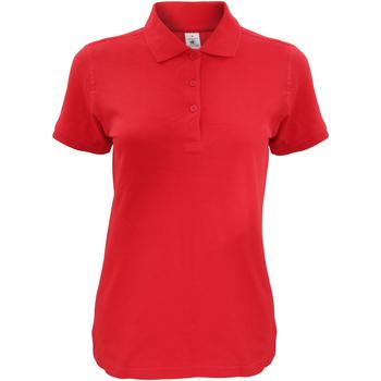 Vêtements Femme Polos manches courtes B And C Safran Rouge