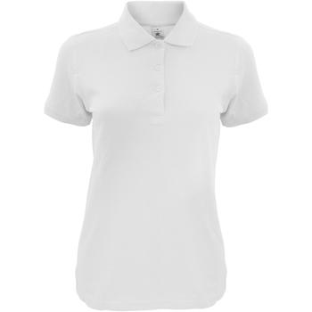 Vêtements Femme Polos manches courtes B And C Safran Blanc