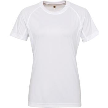 Vêtements Femme T-shirts manches courtes Tridri Panelled Blanc