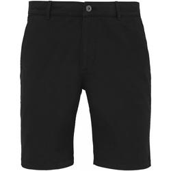 Vêtements Homme Shorts / Bermudas Asquith & Fox Chino Noir