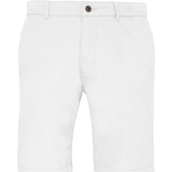 Vêtements Homme Shorts / Bermudas Toutes les chaussures femme Chino Blanc