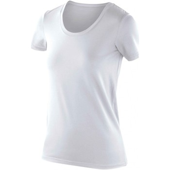 Vêtements Femme T-shirts manches courtes Spiro Softex Blanc