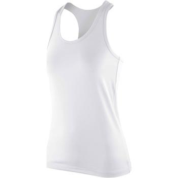 Vêtements Femme Débardeurs / T-shirts sans manche Spiro Stretch Blanc