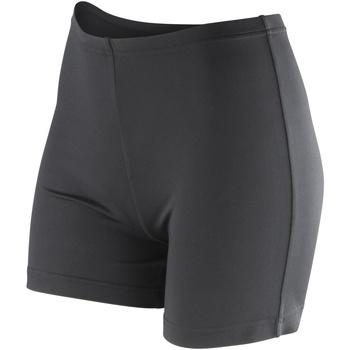 Vêtements Femme Shorts / Bermudas Spiro Stretch Noir