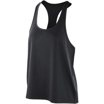Vêtements Femme Débardeurs / T-shirts sans manche Spiro Stretch Noir