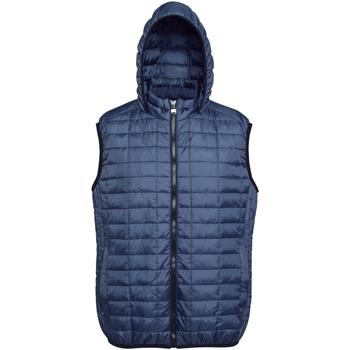 Vêtements Homme Doudounes 2786 Honeycomb Bleu marine