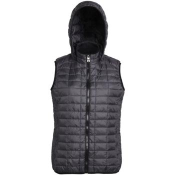Vêtements Femme Doudounes 2786 Hooded Noir