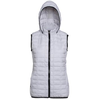Vêtements Femme Doudounes 2786 Hooded Blanc