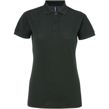 Vêtements Femme Polos manches courtes Asquith & Fox Performance Vert bouteille