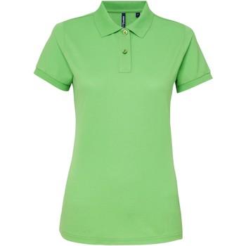 Vêtements Femme Polos manches courtes Toutes les chaussures femme Performance Vert clair