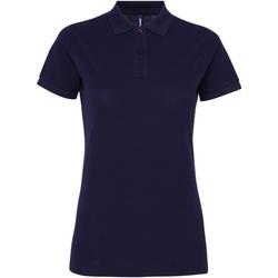 Vêtements Femme Polos manches courtes Toutes les chaussures femme Performance Bleu marine