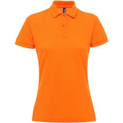 Vêtements Femme Polos manches courtes Asquith & Fox AQ025 Orange