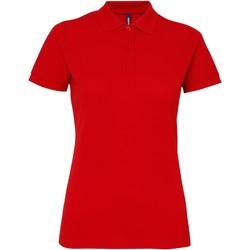 Vêtements Femme Polos manches courtes Toutes les chaussures femme Performance Rouge