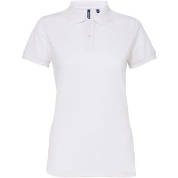 Vêtements Femme Polos manches courtes Toutes les chaussures femme Performance Blanc