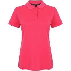 Vêtements Femme Polos manches courtes Henbury HB102 Fuchsia