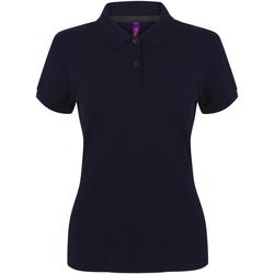Vêtements Femme Polos manches courtes Henbury HB102 Bleu marine