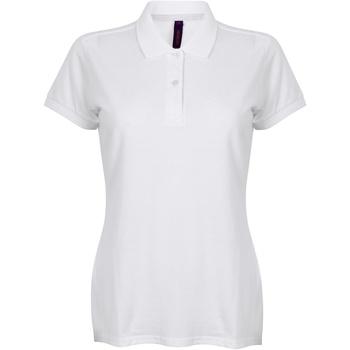 Vêtements Femme Polos manches courtes Henbury HB102 Blanc
