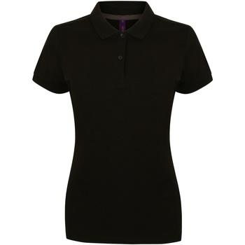 Vêtements Femme Polos manches courtes Henbury HB102 Noir