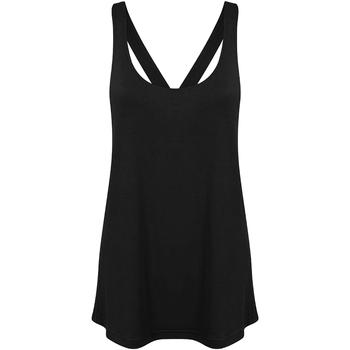 Vêtements Femme Débardeurs / T-shirts sans manche Skinni Fit Workout Noir