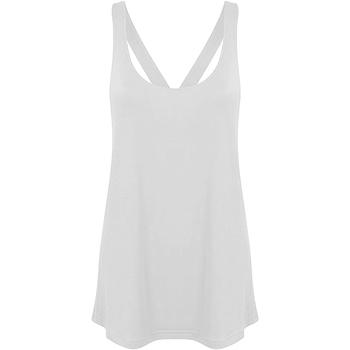 Vêtements Femme Débardeurs / T-shirts sans manche Skinni Fit Workout Blanc