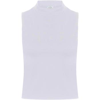 Vêtements Femme Débardeurs / T-shirts sans manche Skinni Fit Crop Blanc