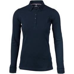 Vêtements Femme Polos manches longues Nimbus Carlington Bleu marine
