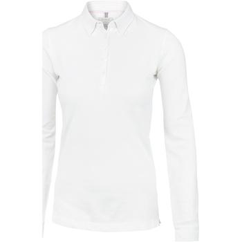 Vêtements Femme Polos manches longues Nimbus Carlington Blanc