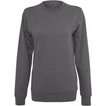 Vêtements Femme Sweats Build Your Brand BY025 Gris foncé