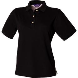 Vêtements Femme Polos manches courtes Henbury Classics Noir