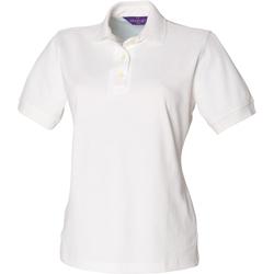 Vêtements Femme Polos manches courtes Henbury Classics Blanc