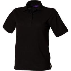 Vêtements Femme Polos manches courtes Henbury HB401 Noir