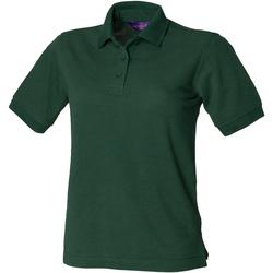 Vêtements Femme Polos manches courtes Henbury HB401 Vert bouteille
