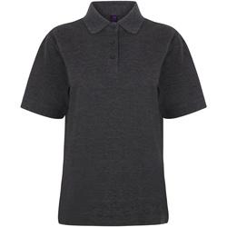 Vêtements Femme Polos manches courtes Henbury HB401 Gris foncé