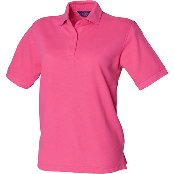 Vêtements Femme Polos manches courtes Henbury HB401 Fuchsia