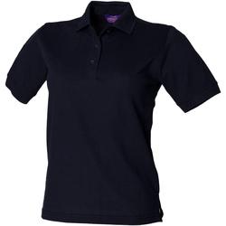 Vêtements Femme Polos manches courtes Henbury HB401 Bleu marine