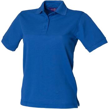 Vêtements Femme Polos manches courtes Henbury HB401 Bleu roi