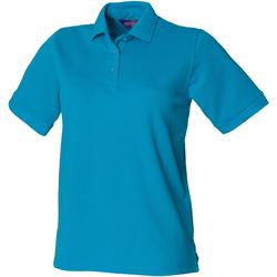Vêtements Femme Polos manches courtes Henbury HB401 Turquoise
