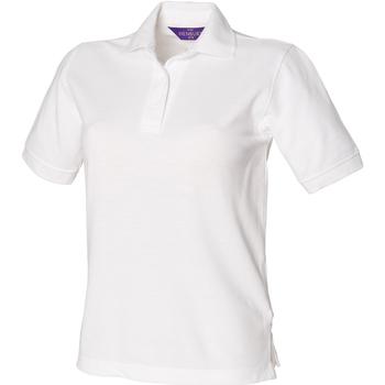Vêtements Femme Polos manches courtes Henbury HB401 Blanc