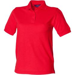 Vêtements Femme Polos manches courtes Henbury HB401 Rouge