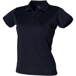 Vêtements Femme Polos manches courtes Henbury Coolplus Bleu marine