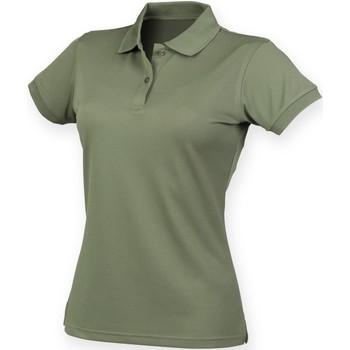 Vêtements Femme Polos manches courtes Henbury Coolplus Olive