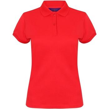 Vêtements Femme Polos manches courtes Henbury Coolplus Rouge