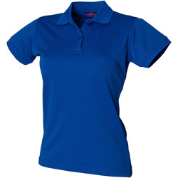 Vêtements Femme Polos manches courtes Henbury Coolplus Bleu roi