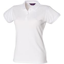 Vêtements Femme Polos manches courtes Henbury Coolplus Blanc